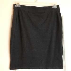 Merona size M gray pencil skirt